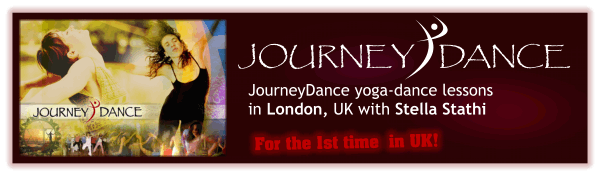 JourneyDance yoga-dance lessons in London, UK for the first time